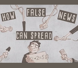 How False News Can Spread