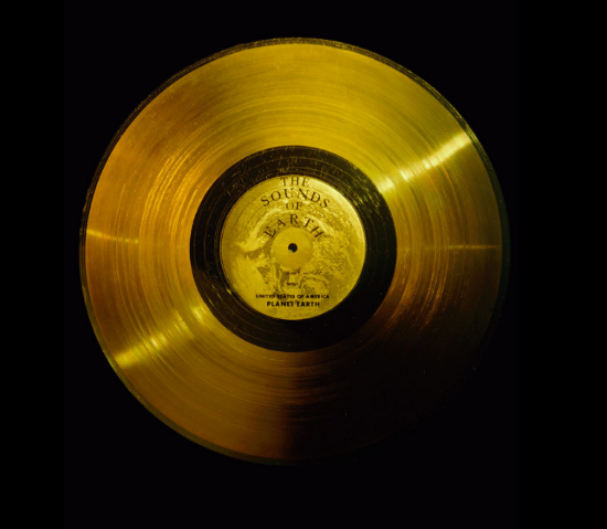 Golden Record from Voyager 1 Mission