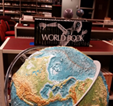 World Book and Globe